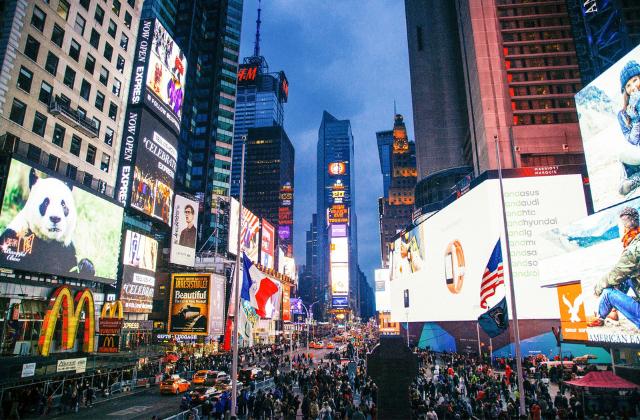New York, New York i Washington: 8 dana